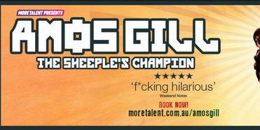 Comedian Amos Gill Takes His New Show To Australian Comedy Festivals! Photo