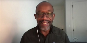 Lennie James Talks About Writing His First Play on a Bet Video