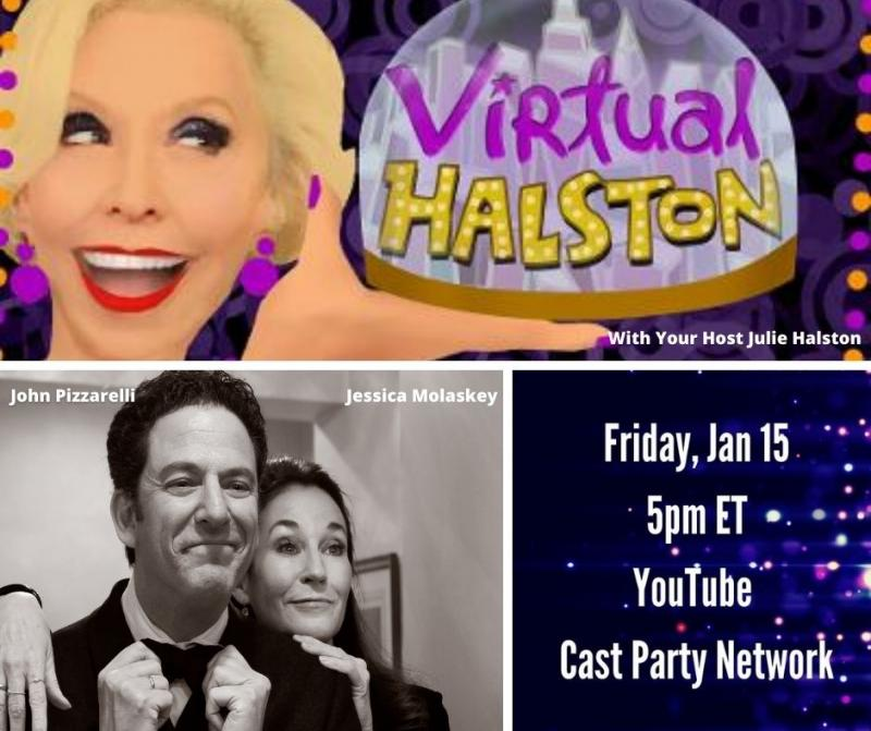 BWW Previews: John and Jessica and Julie Make January 15th VIRTUAL HALSTON Just Right