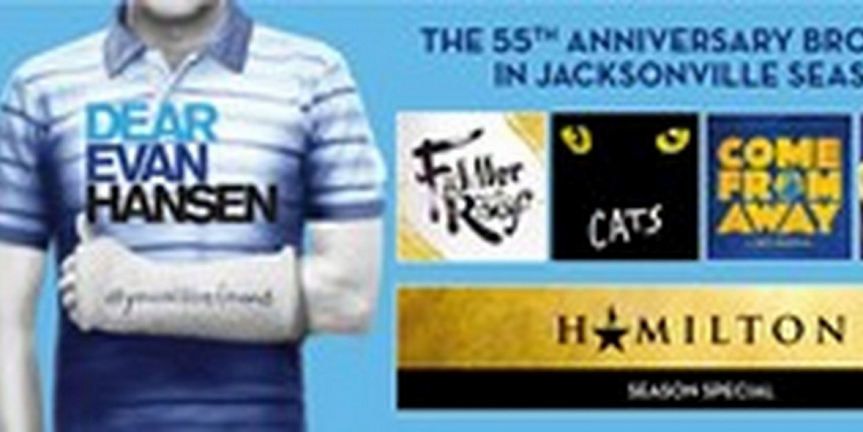 FSCJ Artist Series Broadway in Jacksonville Announces Rescheduled Dates for 55th Anniversa Photo