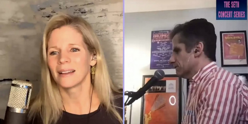 Exclusive: Sneak Peek at Kelli O'Hara's Concert With Seth Rudetsky; Premieres Tonight! Photo