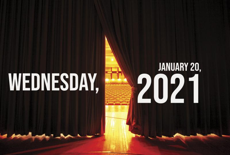 Virtual Theatre Today: Wednesday, January 20- with The Chaos Twins and More!