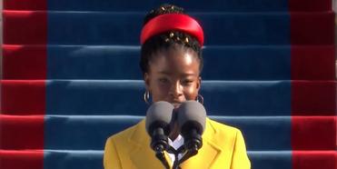 VIDEO: Amanda Gorman References HAMILTON in Inaugural Poem 'The Hill We Climb' Photo