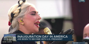 Lady Gaga Performs the National Anthem at the Inauguration Video