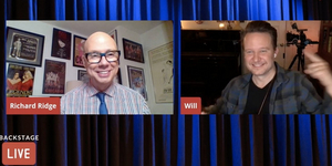 Will Chase Visits Backstage LIVE with Richard Ridge- Watch Now! Video