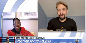 Amanda Gorman Gets Special Message From Lin-Manuel Miranda Video