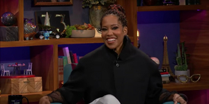 Regina King Talks ONE NIGHT IN MIAMI on THE LATE LATE SHOW Video