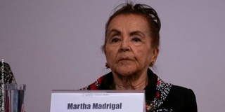 Martha Madrigal, Maestra Del Haiku En México Photo