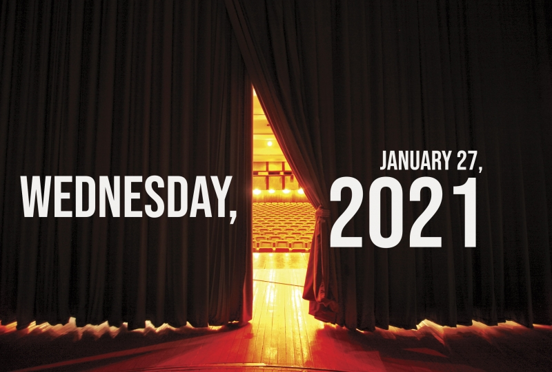 Virtual Theatre Today: Wednesday, January 27- with Liz Callaway, Lea Salonga and More!