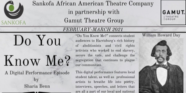 Dauphin County Commissioners' to Present Black History Month Program DO YOU KNOW ME? Photo