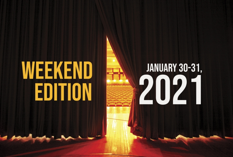 Virtual Theatre This Weekend: January 30-31- with Barrett Foa, Lesli Margherita and More!