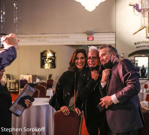 Luann De Lesseps, Richard Jay-Alexander, Billy Stritch Photo