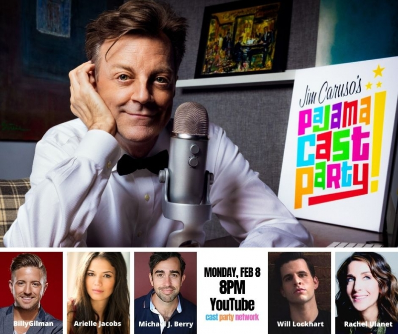 BWW Previews: Arielle Jacobs & BIlly Gilman On Guest List for February 8th PAJAMA CAST PARTY