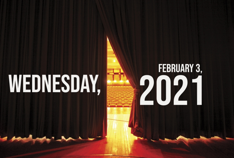 Virtual Theatre Today: Wednesday, February 3- with Ali Ewoldt, Melissa Errico and More!