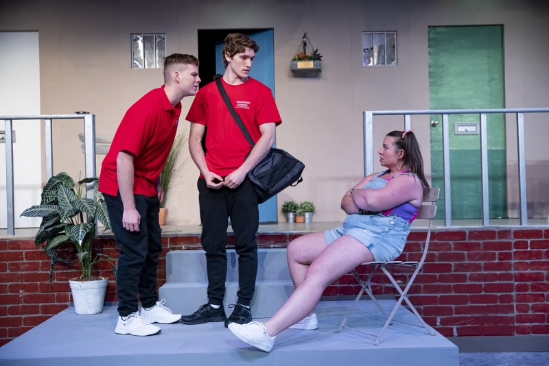 BWW REVIEW: BEAUTIFUL THING Is A Heartwarming Coming Of Age Story That Emerges From The Bleak Concrete Of British Council Housing.