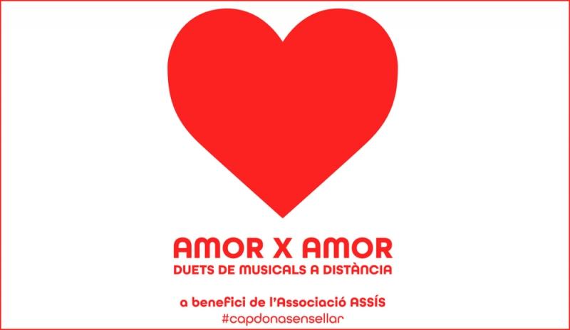 Más de 100 artistas participan en la jornada solidaria AMOR X AMOR