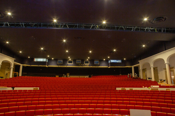 Photo Flash: 30 Million Dollar Renovation of the Parker Playhouse is in the Homestretch