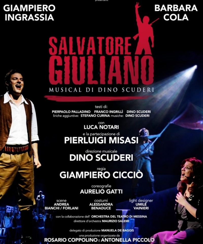 BWW Interview: SALVATORE GIULIANO IL MUSICAL - BROADWAYWORLD REGIONAL AWARD WINNER