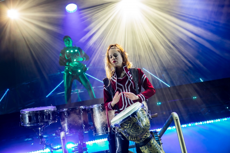 BWW REVIEW: A High Energy Spectacle of Light And Sound, DRUMMER QUEEN Seeks To Shift Perceptions About Women In Percussion.