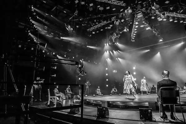 Photo Flash: Behind the Scenes of Curve Leicester's THE COLOR PURPLE - AT HOME