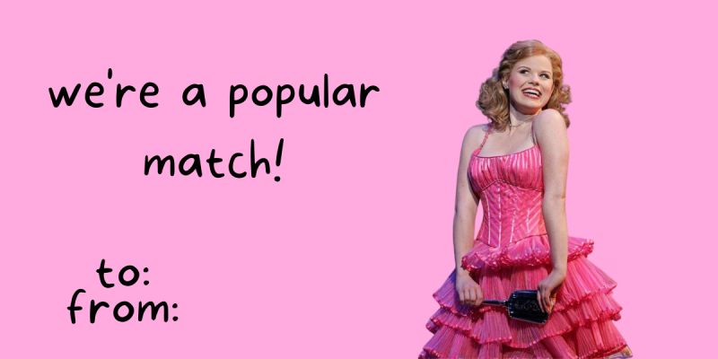 14 Broadway-Themed Valentines for That Special Someone