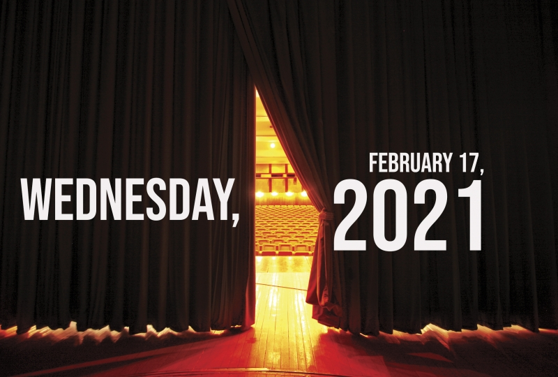 Virtual Theatre Today: Wednesday, February 17- with Patrick Page, Michael McElroy and More!