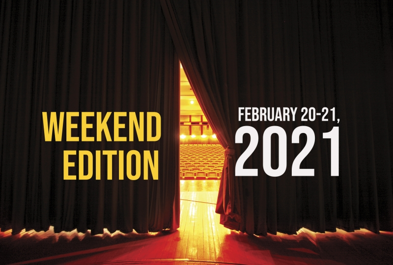 Virtual Theatre This Weekend: February 20-21- with Santino Fontana, Jessie Mueller and More!