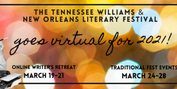 Tennessee Williams & New Orleans Literary Festival Embraces Virtual Format for 2021 Photo