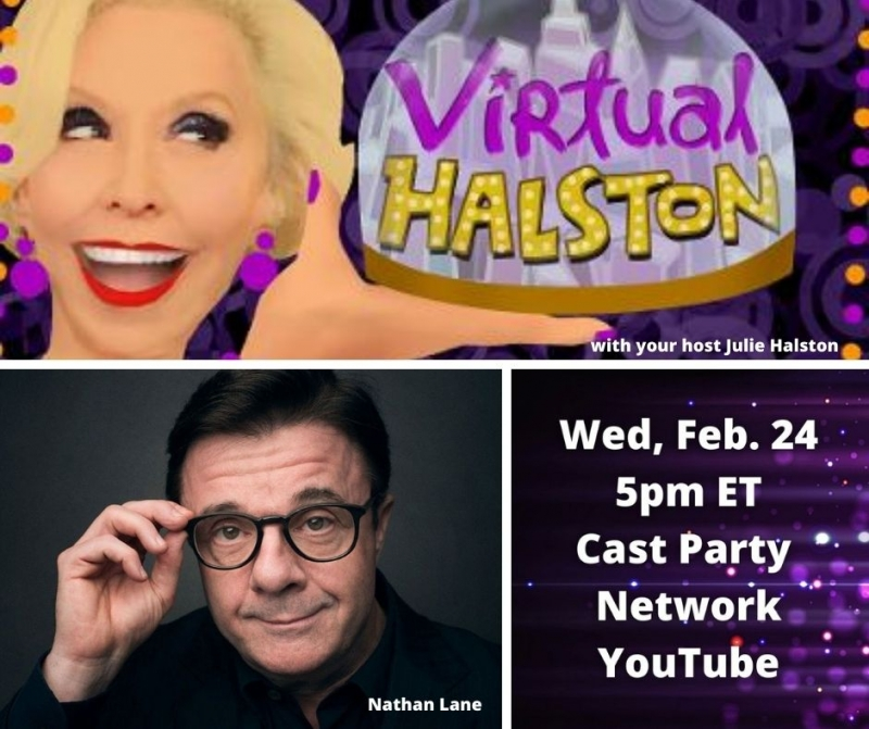 BWW Previews: A Special and Special Time for VIRTUAL HALSTON:  Nathan Lane on February 24th