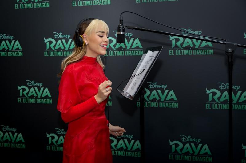 Danna Paola canta 'Hasta Vencer' en la nueva película de Disney RAYA Y EL ÚLTIMO DRAGÓN