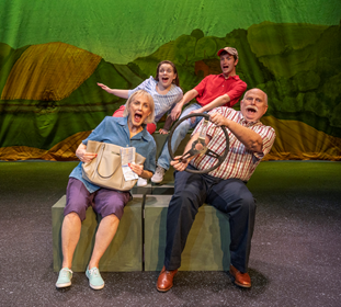 BWW Review: LEAVING IOWA at Des Moines Playhouse: Going on a Journey Back to Easier Times