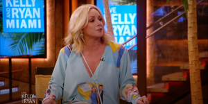 Jane Krakowski Debuts the LIVE WITH KELLY AND RYAN Kaftan Video