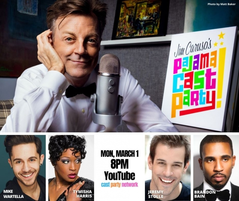 BWW Previews: March 1 PAJAMA CAST PARTY Features Cast of Magnificent Music Makers