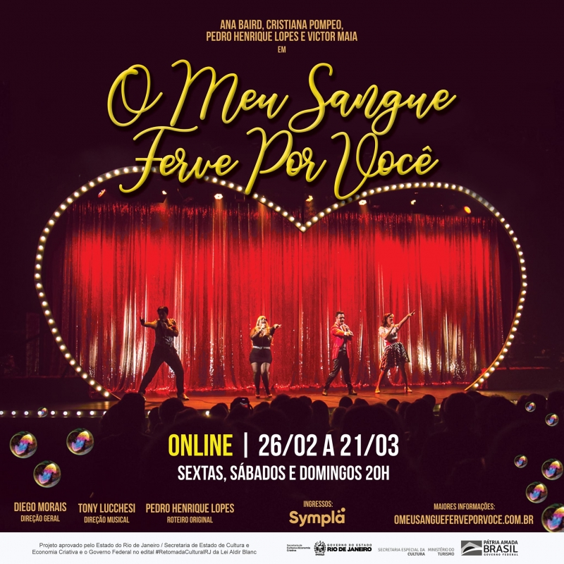 BWW Review: Great Success on Stage O MEU SANGUE FERVE POR VOCE (My Blood Boils For You) Wins Free Virtual Season