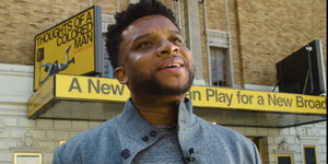 Creatives Talk THOUGHTS OF A COLORED MAN on Broadway Video