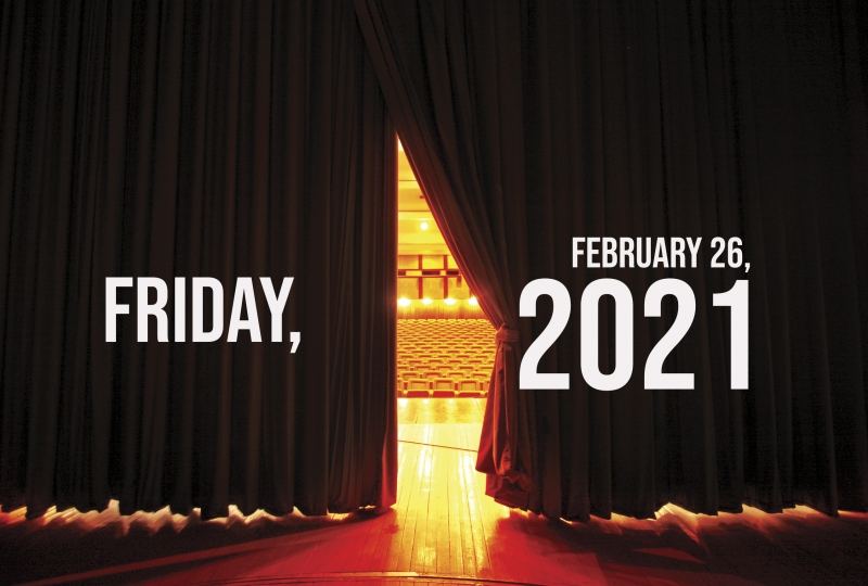 Virtual Theatre Today: Friday, February 26- with Alex Timbers, André De Shields, and More!