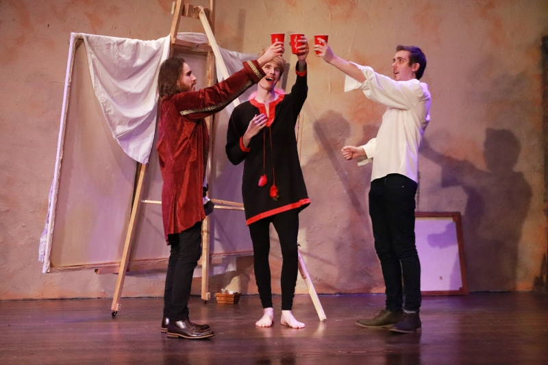 BWW Review: BOTTICELLI IN THE FIRE at The Laboratory Theater Of Florida