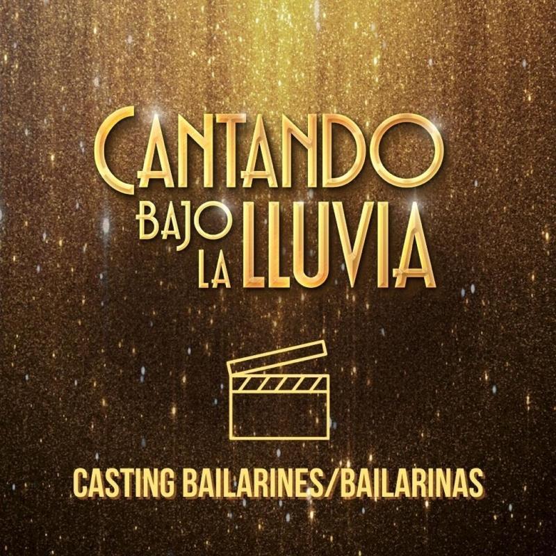 Nostromo Live convoca audiciones para bailarines para CANTANDO BAJO LA LLUVIA