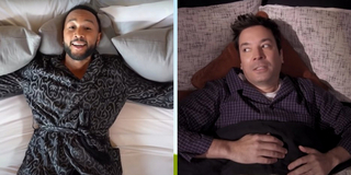 VIDEO: Jimmy Fallon & John Legend Perform BEAUTY AND THE BEAST Parody 'March Again' Photo