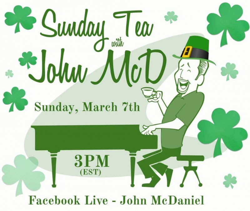 BWW Previews: SUNDAY TEA WITH JOHN MCD Returns March 7th