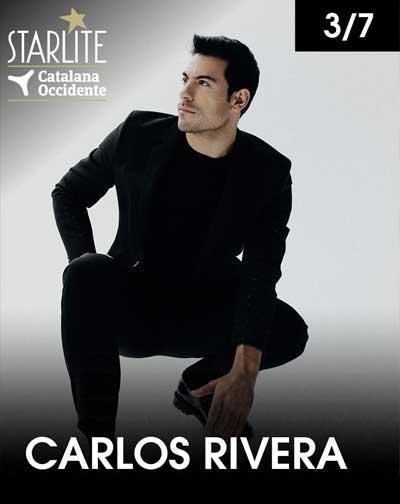 Carlos Rivera comienza su gira en Starlite