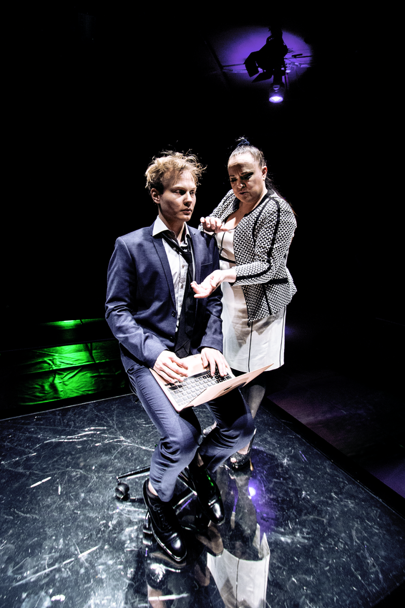 BWW Review: NSFW IS ABSORBING INSPITE OF ITS MINIMALISM  at Koko Theater