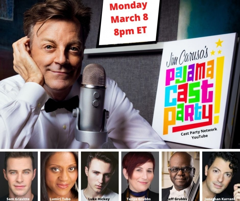 BWW Previews: March 8th PAJAMA CAST PARTY Welcomes Wide Ranging Talents