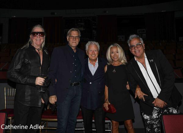 Ron Abel, Helmut Koller, Stephen Sorokoff, Eda Sorokoff, Richard Jay-Alexander Photo