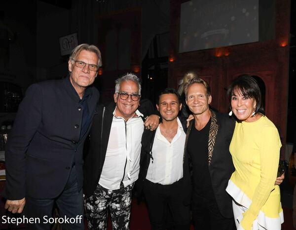 Helmut Koller, Richard Jay-Alexander, Nicolas King, David Sexton, Catherine Adler Photo