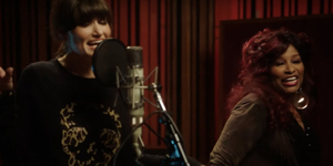 Chaka Khan and Idina Menzel Sing 'I'm Every Woman' Video