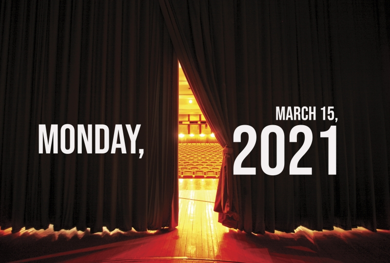 Virtual Theatre Today: Monday, March 15- with Patrick Page, Jordan Barbour, and More!