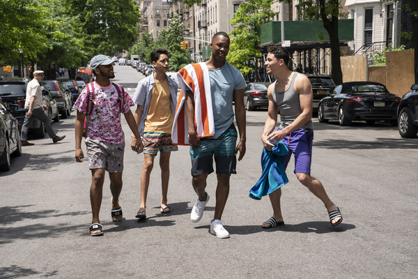 NOAH CATALA as Graffiti Pete, GREGORY DIAZ IV as Sonny, COREY HAWKINS as Benny and AN Photo
