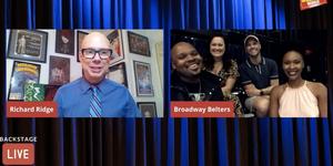 Ashley Brown, Michael James Scott, Kissy Simmons & Josh Strickland Visit Backstage LI Video