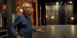 Andrew Lloyd Webber Tours the London Palladium Video
